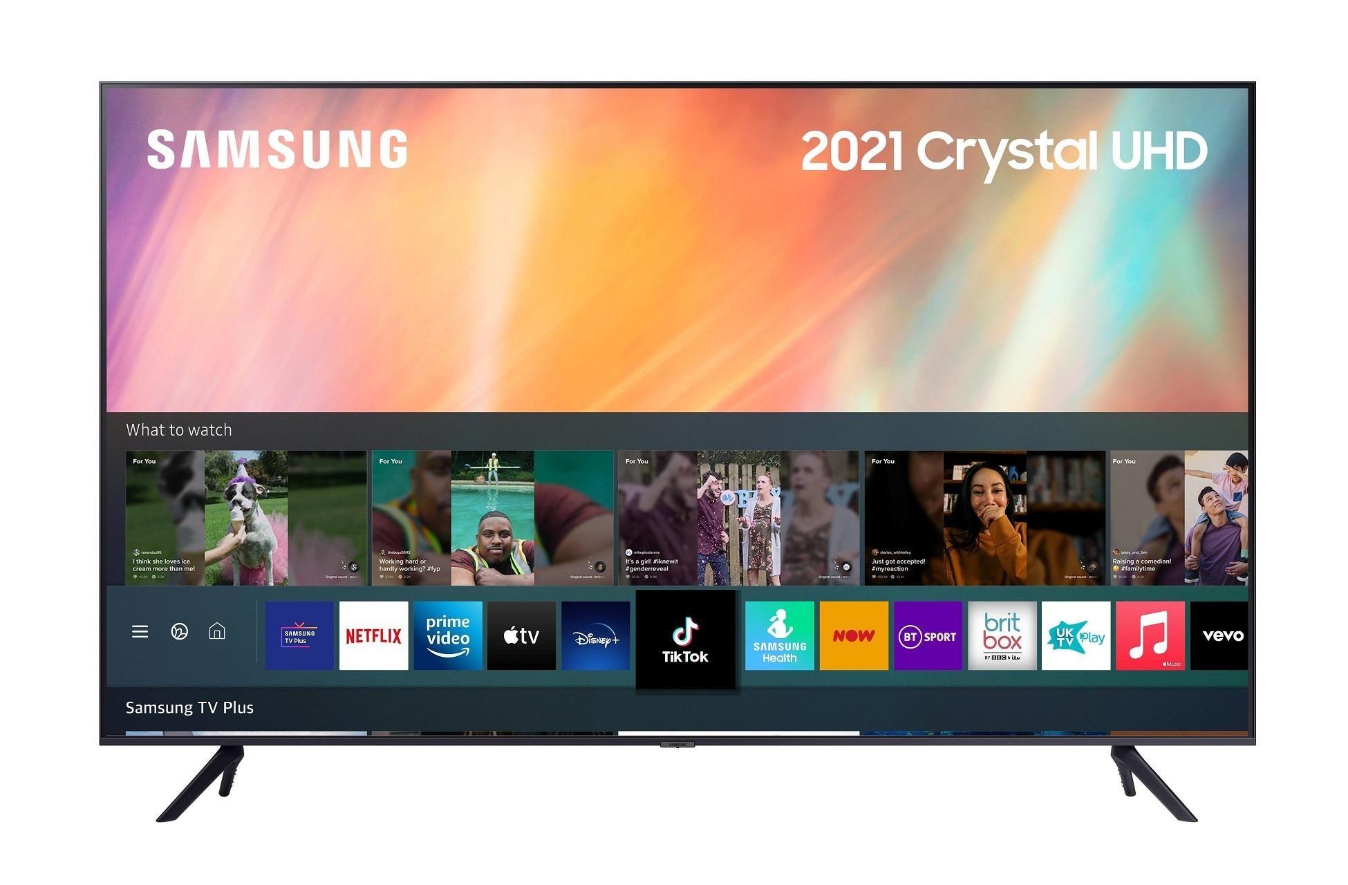 Samsung UE50AU7100 50 inch 4K Ultra HD HDR Smart LED TV (2021) £559 @ Richersounds