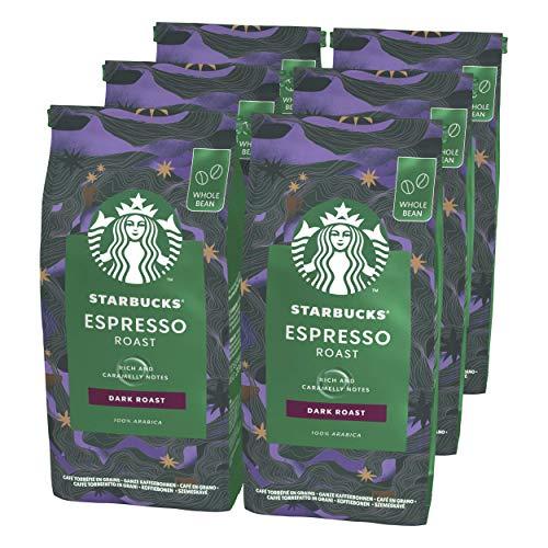 Starbucks dark espresso beans £15 or £13.50 via Subscribe and Save (+£4.49 non-prime) @ Amazon