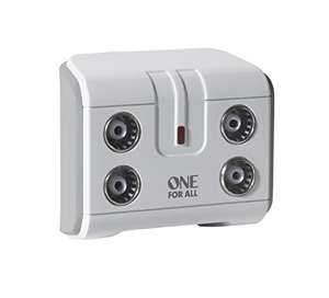 One For All SV9604 4 Way TV Signal Booster £9.95 @ Amazon