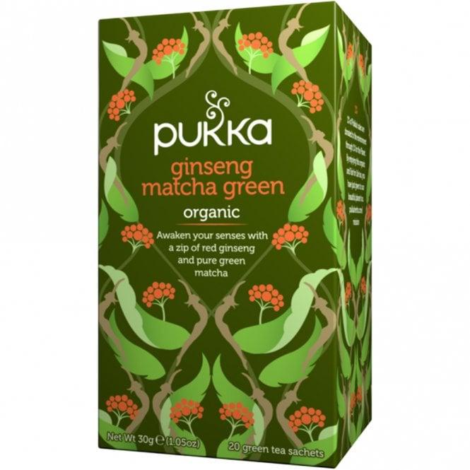 PUKKA Organic Ginseng Matcha Green Tea Bags 20 £1.99 @ Justmylook