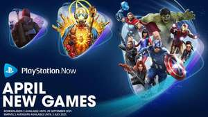 PS Now April Games : Marvel's Avengers, Borderlands 3 and The Long Dark