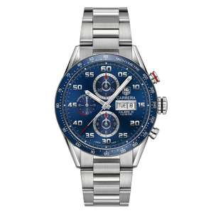 TAG Heuer Carrera Calibre 16 Men's Stainless Steel Bracelet Watch £2,955 at Ernest Jones