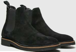 schuh black drew chelsea boots £19.99 + £3 delivery at Schuh