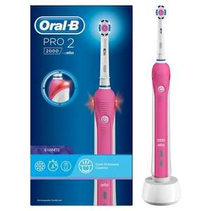 Oral B Pro 2000 electric toothbrush reduced to £10 in Asda (Norwich Drayton)