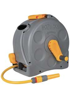Hozelock Compact 2in1 Reel with 25m Hose £38.60 at Amazon