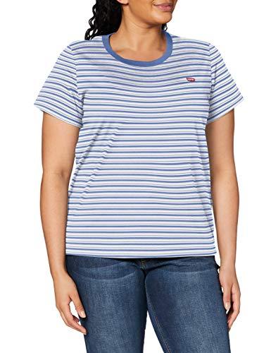 Levi's Plus Size Women's Pl Perfect Crew T-Shirt (size x1 (16-18) only) - £6.09 (+£4.49 non-prime) @ Amazon