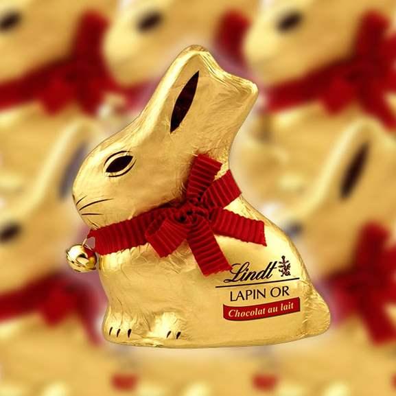 6 x 100g Lindt Gold Bunny Milk Chocolate - £12.00 delivered @ Yankee Bundles