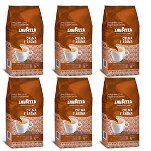 Lavazza Crema E Aroma Coffee Beans, Pack of 6 x 1000g - £50.70 Sold by JK TRADERS BV and Fulfilled by Amazon