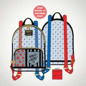 Birds of Prey Harley Quinn Mini Loungefly Backpack £35 + £3.99 delivery at Menkind