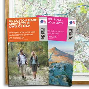 3x Ordnance Survey paper maps for £20 with code at Ordnance Survey