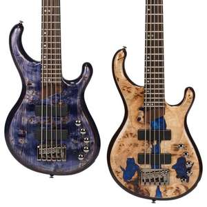 5 String - Cort Artisan Persona 5 Bass Limited Edition - Lavender Phase - £649 / Blue Resin Burl - £749 - Next Day Delivery @ GuitarGuitar