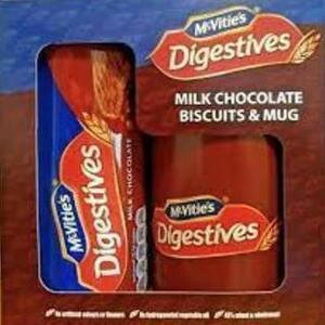 McVities Chocolate Digestive biscuits and Mug 75p at Poundland Leytonstone