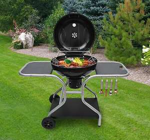 Deluxe Charcoal Trolley BBQ With Wheels £127.49 with code @ eBay / 2011homcom