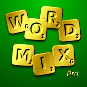 WordMix Pro - a living crossword puzzle Temporarily FREE at Google Play Store