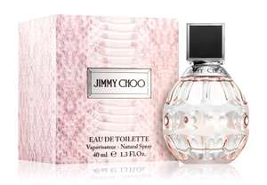 Various Jimmy Choo perfumes @ Notino e.g Jimmy Choo For Women Eau de Toilette for Women 40ml £14.59 + £3.99 delivery