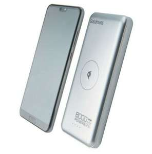 Goodmans 10,000 mAh QI wireless powerbank 10p @ B&M (Oldham)