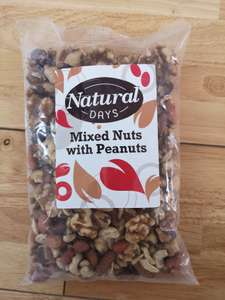 Big bag of Natural mixed nuts with peanuts £1.99 for 500g @ Home Bargains Lincoln