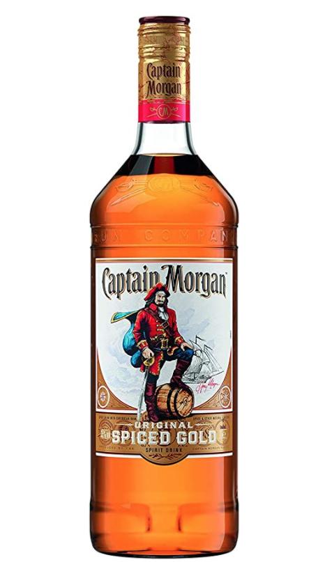 Captain Morgan Spiced Rum, 1 Litre £15.98 (+£4.49 NP) Delivered @ Amazon