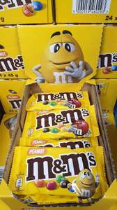 M&M Peanuts 45g Packs are 5 for £1 @ Farmfoods