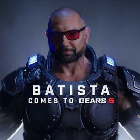 Gears 5: FREE Dave Bautista as Marcus Fenix Skin