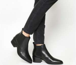 Vagabond Shoemakers Marja Ankle Boots Black Leather £35 + £3.99 delivery = £38.99 delivered @ Office Shoes