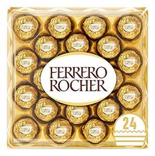 Ferrero Rocher Chocolate Easter Gift Set, Hazelnut and Milk Chocolate Pralines x24 - £5.69 Prime /+ £4.49 non Prime @ Amazon