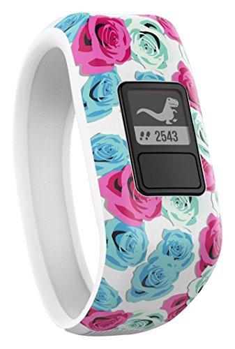 Garmin Vivofit Jr. Daily Activity Tracker for Kids - Real Flower (White with Flower Pattern) - £37.49 @ Amazon