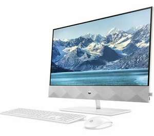 "HP Pavilion 24-k0003na 23.8"" All-in-One PC - AMD Ryzen 5, 512 GB SSD, White - £485.18 delivered using code @ currys_clearance / eBay"