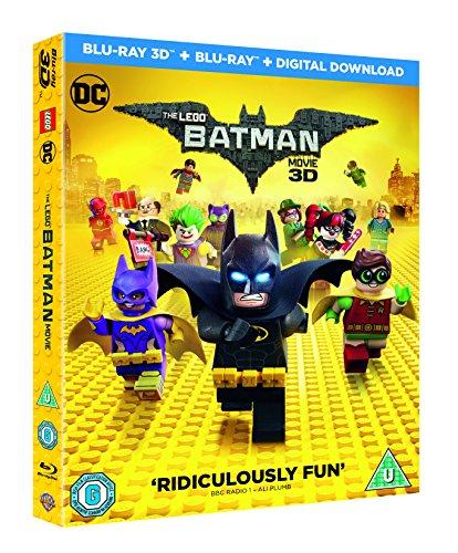 Lego Batman Movie 3D and 2D Blu-ray plus Digital Download - £3.48 Prime / +£2.99 non Prime @ Amazon