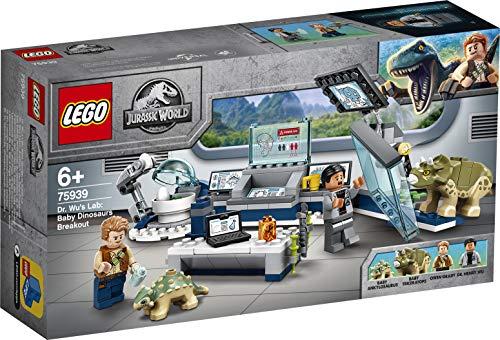LEGO 75939 Jurassic World Dr. Wu's Lab: Baby Dinosaurs Breakout - £12.58 Prime / +£4.49 non Prime @ Amazon
