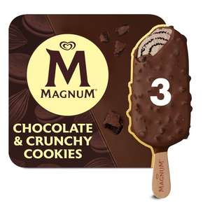 Magnum Choc Cookie Crunch 3 x 90ml - £2 @ Morrisons