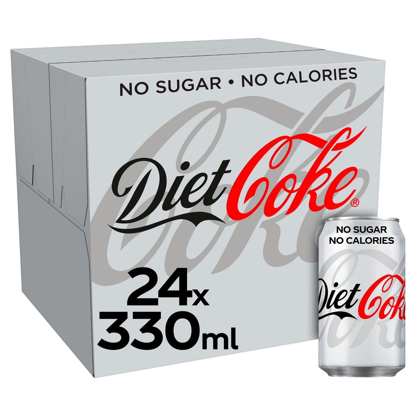 Diet Coke 24x330ml cans - £4.99 instore @ Home Bargains, Poulton-le-Fylde