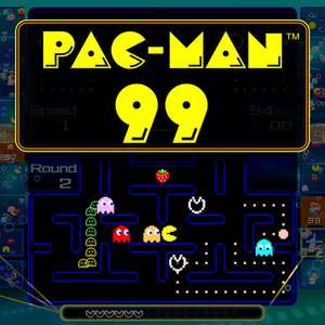 New Pac-Man 99 Switch (battle royal) free for Nintendo Switch Online subscribers at Nintendo eShop