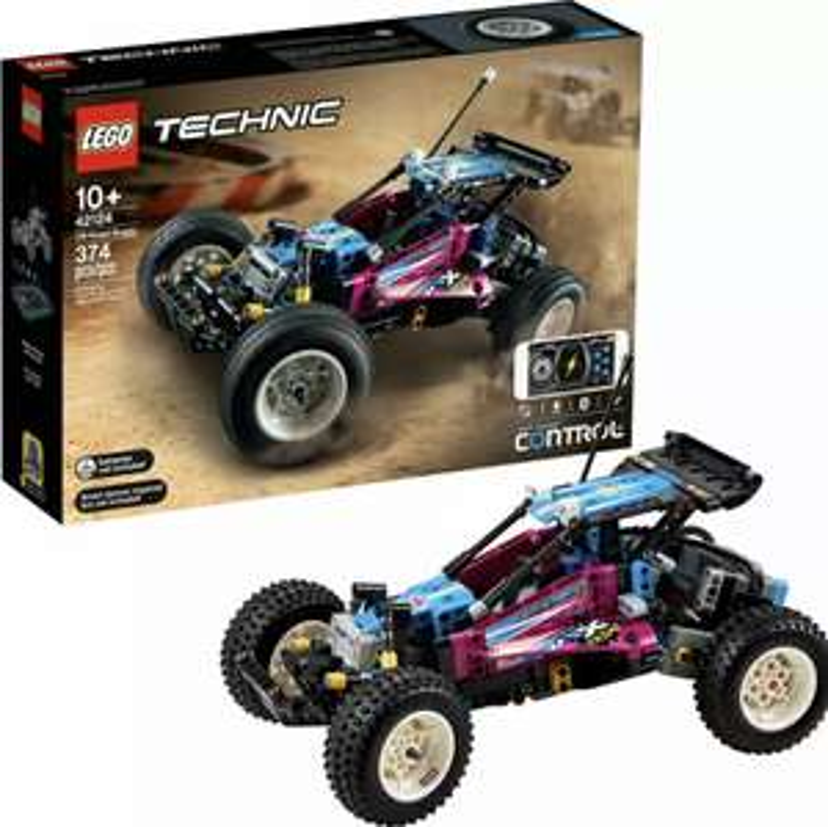 Lego Technic 42124 Off-Road Buggy CONTROL+ App-Controlled Retro RC Toy Car £95.99 @ Amazon