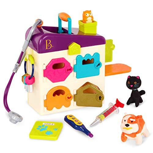 B. Toys BX1229C1Z Pet Vet Clinic, Multi-Colour playset £12.12 prime / £16.61 nonPrime at Amazon