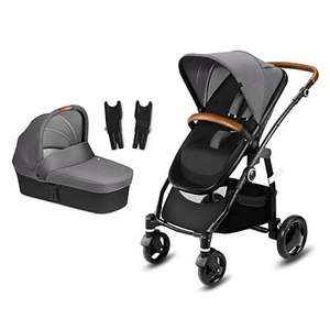 Cybex Leotie Lux Pushchair & Carry Cot - Comfy Grey £150 at Boots