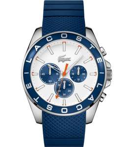 Lacoste Men's Blue Silicone Strap Watch - £59.99 @ Argos (free Click + Collect / delivery £3.95)