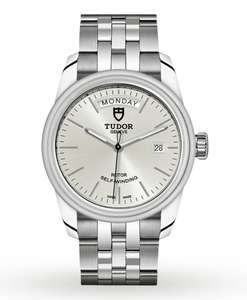 TUDOR Men's Glamour Date & Day 39mm Automatic Watch £1485 @ Goldsmiths