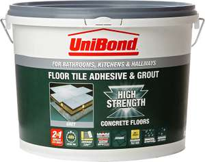 Unibond for tile adhesive and grout 14.3kg at Poundland (Bexhill) - £5