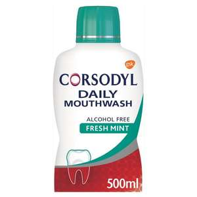 Corsodyl Daily Gum Care Mouthwash Alcohol Free Fresh Mint, 500ml - £3 @ Asda