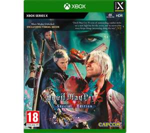 Devil May Cry V: Special Edition (Xbox Series S/X) - £17.97 Delivered @ Currys PC World