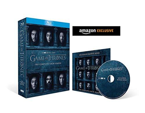 Game of Thrones - Season 6 Blu-ray with Bonus Disc - £8.49 (+£2.99 Non Prime) @ Amazon