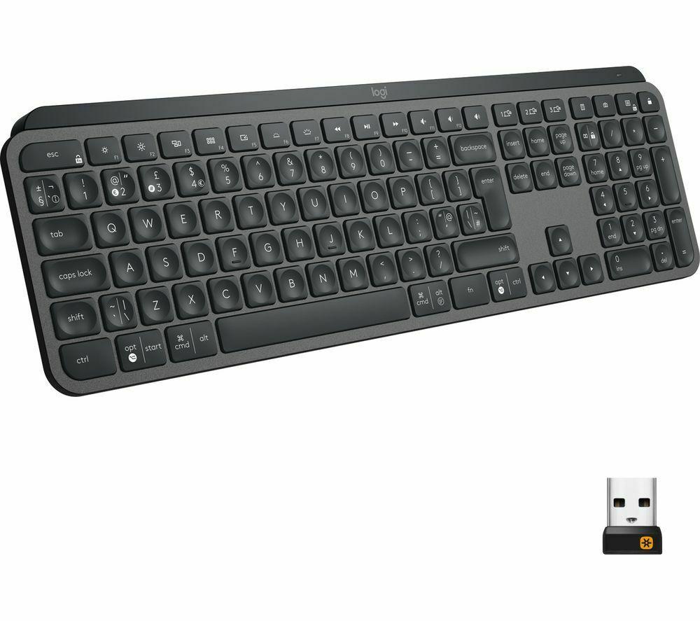 LOGITECH MX Keys Wireless Keyboard UK Layout - £91.99 delivered using code @ Currys PC World / eBay