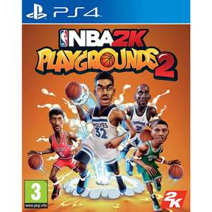 NBA 2K Playgrounds 2 (PS4) £3.95 delivered at The Game Collection