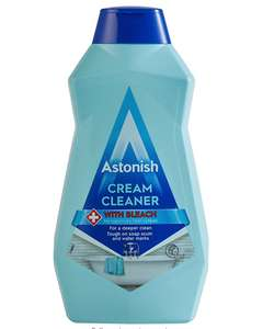 Astonish Cream Cleaner With Bleach, 500ml for £1 delivered (+£4.49 Non Prime) @ Amazon