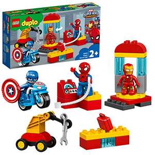 LEGO DUPLO 10921 Super Heroes Marvel Lab £19.99 (Prime) + £4.49 (non Prime) at Amazon