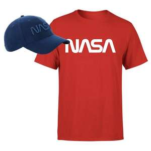 NASA embroidered Cap + Tee (Various Designs) £12.99 Delivered using code @ IWOOT