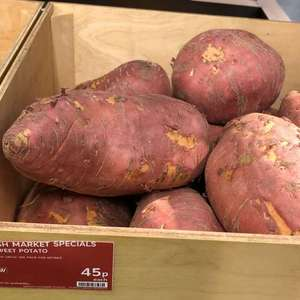 Sweet potato 45p each at Marks and Spencer in Perth