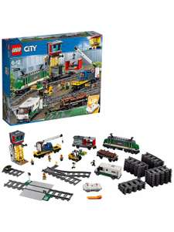 LEGO City 60198 Cargo Train - £105 with code @ John Lewis & Partners