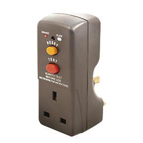 Masterplug 13A fused plug-through active RCD adaptor £6.49 c&c @ Screwfix